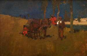 Frank William Brangwyn - Gulur , 1892