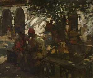 Frank William Brangwyn - sombra