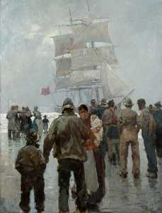 Frank William Brangwyn - Vista Marina