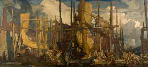 Frank William Brangwyn - Construcción naval