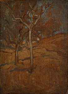 Frank William Brangwyn - Asís bosque