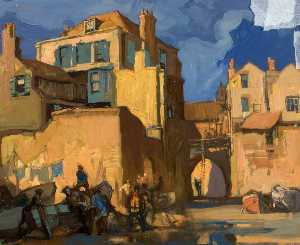 Frank William Brangwyn - lyme regis