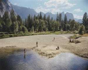 Stephen Shore - río merced , nacional de yosemite Parque , California
