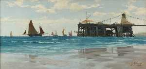 John Fraser - pier cadena , Brighton , east sussex