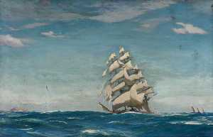 John Fraser - el clipper -Cutty Sark-