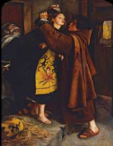 John Everett Millais - Escapar del Hereje 1559