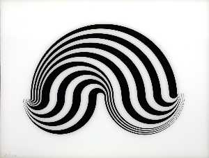 Bridget Riley - Sin título