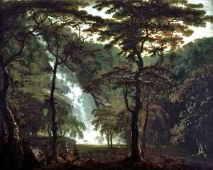 George Barret The Elder - el powerscourt catarata