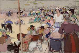 David Macbeth Sutherland - feriado bancario , Portobello Playa