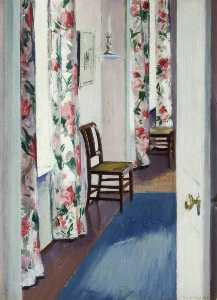 Francis Campbell Boileau Cadell - Chintz Cortinas