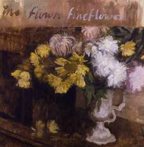 Lawrence Gowing - naturaleza muerta flores