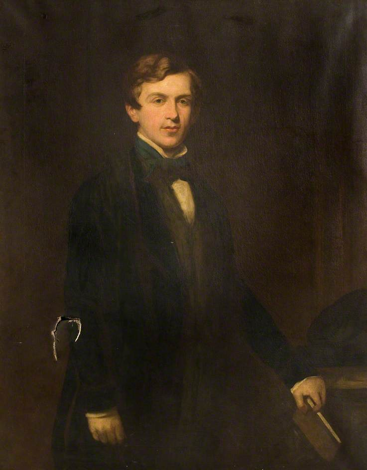 Señor Enrique mather jackson ( 1831–1881 ) , Mientras que a Oxford, 1850 de Thomas Henry Illidge | Reproducciones De Pinturas Thomas Henry Illidge | WahooArt.com