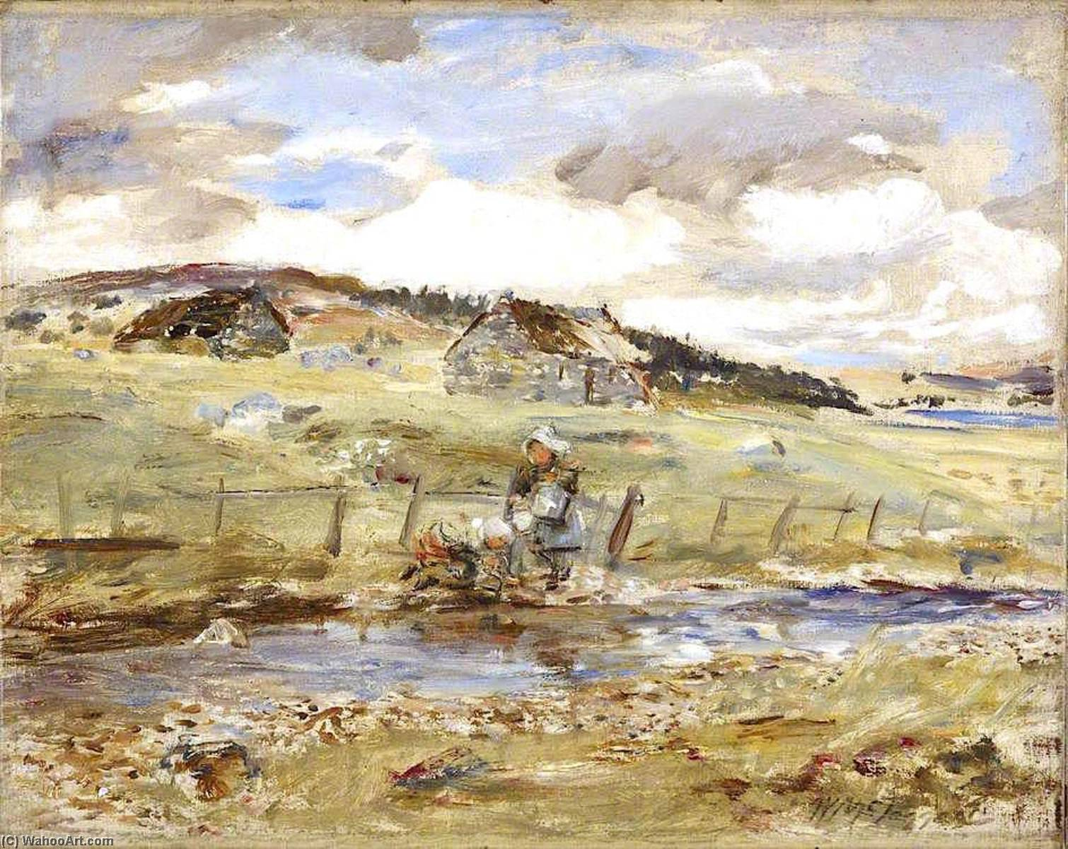 kinloch rannoch, 1893 de William Mctaggart (1835-1910, United Kingdom) | Grabados De Calidad Del Museo William Mctaggart | WahooArt.com