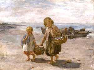 William Mctaggart - pescar de  el  Bote