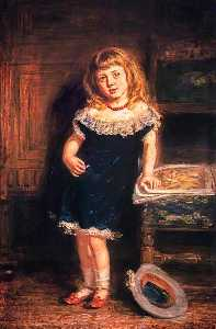 William Mctaggart - Muchacha , María Gavin