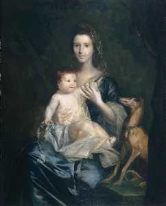 Joshua Reynolds - jane hamilton , Esposa de 9th lord cathcart