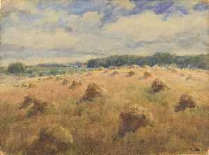 William Henry Holmes - Maryland campos de trigo