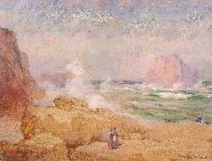William Henry Holmes - en la costa de california