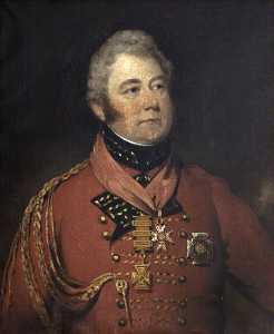 Thomas Barber - General Señor Guillermo Anson ( 1772–1847 ) , 1st Bt