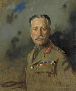 William Newenham Montague Orpen - Campo Mariscal Señor douglas haig