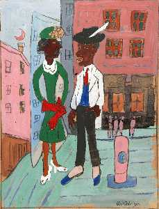 William Henry Johnson - vida de calle , Harlem