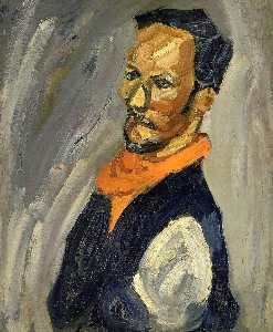 William Henry Johnson - autorretrato con Pañuelo