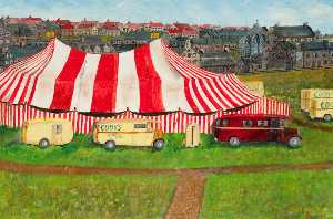 William Piper - Circo Viene a Ciudad , el haugh , Kilsyth