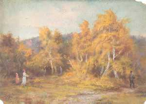William Henry Hope - Otoño , croham hurst , Croydon , Surrey