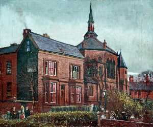 Charles William Oliver - tranmere methodist Iglesia , Wirral