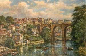 Bernard Finnigan Gribble - Puente Escena , Knaresborough