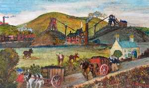 James Bentley - montañita – ewloe collieries , 1871