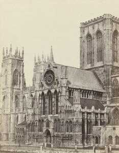 Francis Frith - catedral de york , Westfront