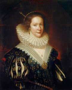 George Jamesone - lady mary erskine ( segundo . do . 1597 ) , Condesa Marischal