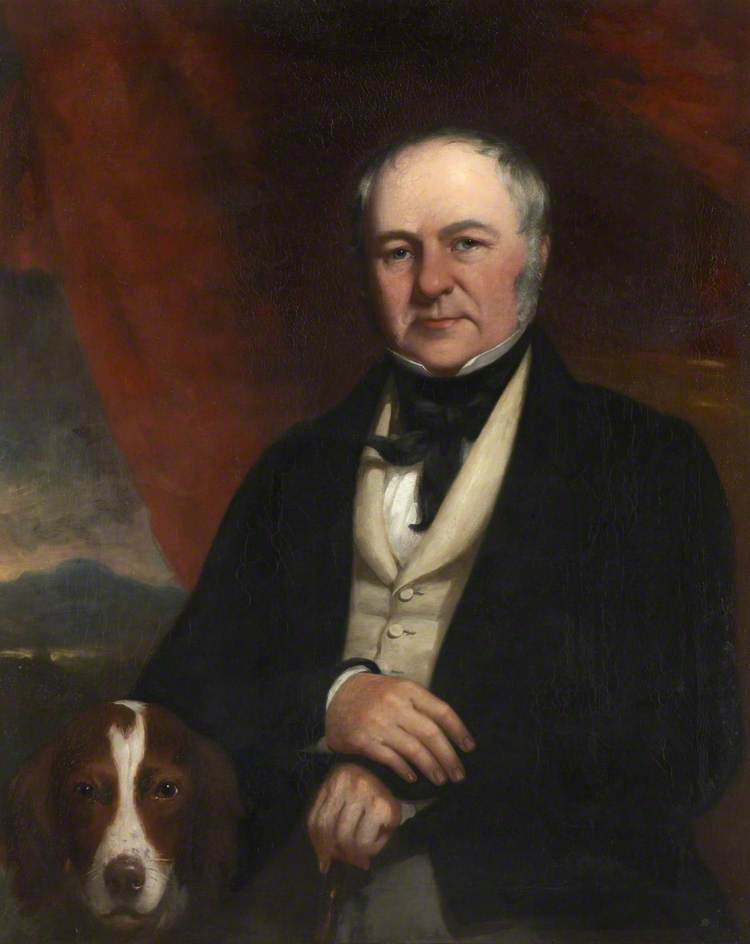 J . braithwaite de orrest Cabeza, óleo sobre lienzo de William Bowness