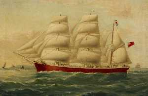 William Horde Yorke - la barca 'Mary Mark'
