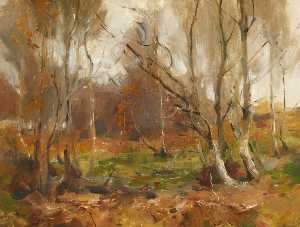 William Miller Frazer - paisaje de otoño