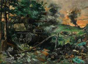 Terence Tenison Cuneo - tanque batalla