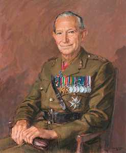 Michael Noakes - mayor general peter leuchars ( 1922–2009 )