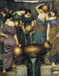 John William Waterhouse - El Danaides