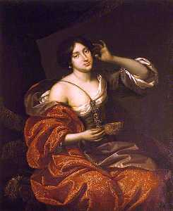 Benedetto Gennari The Younger - lady elizabeth howard , lady felton , como cleopatra