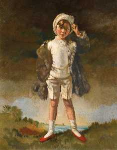 William Newenham Montague Orpen - Noll Hijo de Oliver San . john gogarty