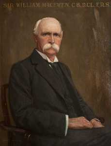Charles R Dowell - Señor Guillermo Macewen ( 1848–1924 ) , CB , DCL , PP