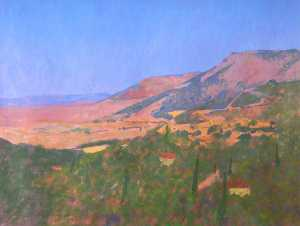Colin Graham Frederick Hayes - griego paisaje