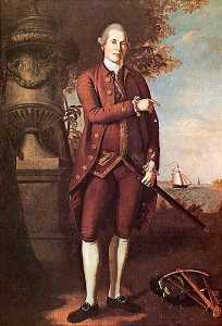 Charles Willson Peale - Guillermo piedra  1739   1821   pintura
