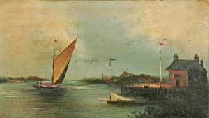 Charles Beaty - Wherry asícomo Yate en un Ancho