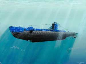 Johne Makin - HMS Metro Submarino 'Unshaken'