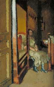 Walter Richard Sickert - L'Armoire un Glaseado