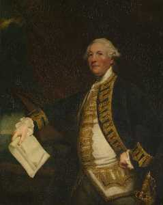 Joshua Reynolds - Comodoro Señor Guillermo James ( 1721–1783 )
