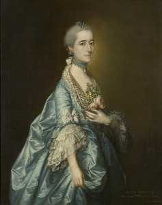 Thomas Gainsborough - Ana leyborne leyborne
