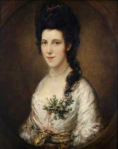 Thomas Gainsborough - Retrato de una dama posiblemente  Anunciación  Edén